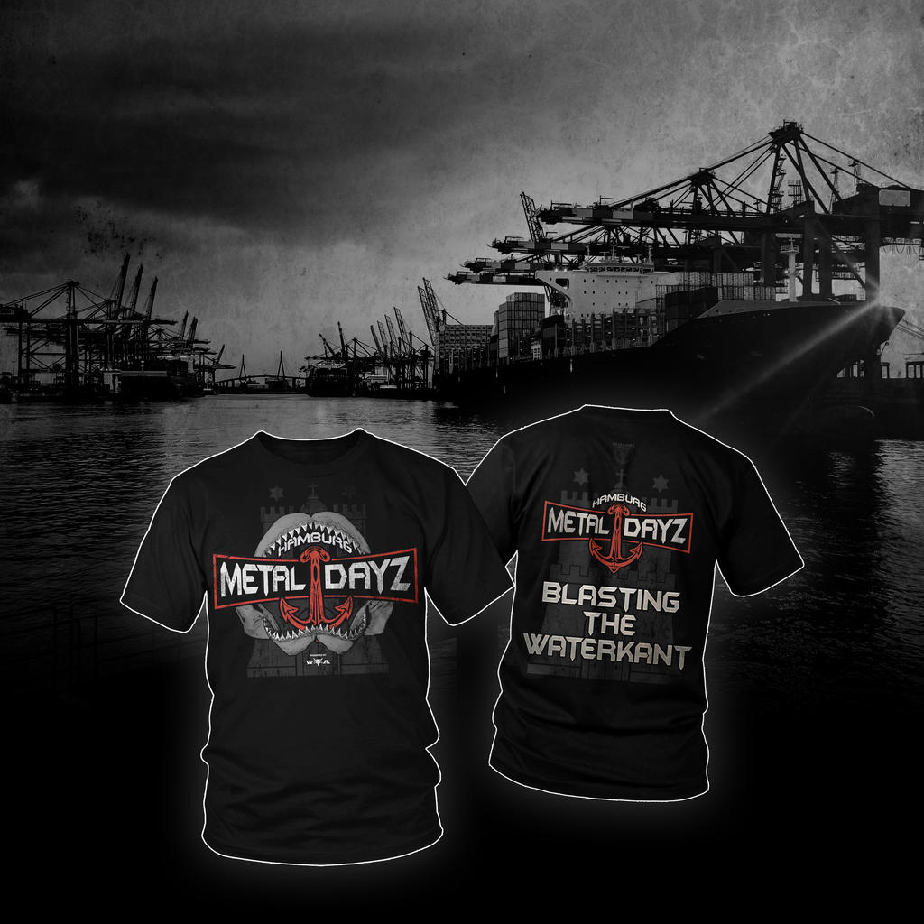 HAMBURG METAL DAYZ 2018 - limitiertes Early Bird T-Shirt